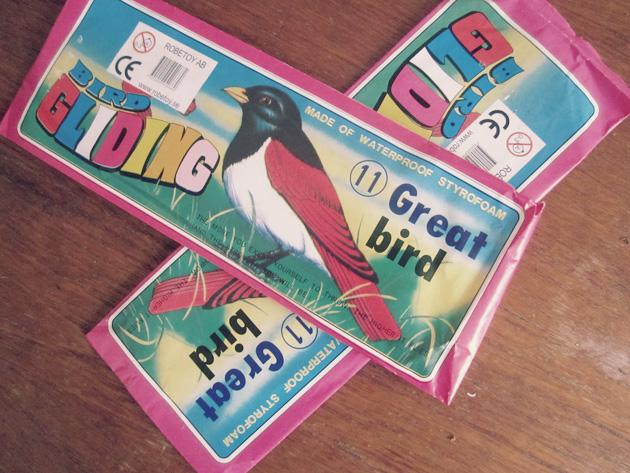 fågelförpackning, bokstäver, anna nilsson