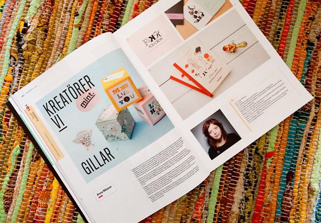 anna nilsson, cap & design, annagrafiskform, grafiskt, reportage