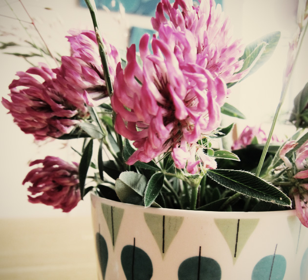 sommar, blomster, bild, annagrafiskform