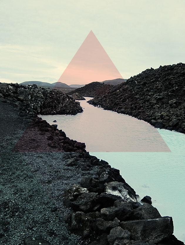 island, triangel, anna nilsson, annagrafiskform, malmö