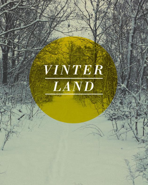 vinterland, anna nilsson, annagrafiskform.se, snö