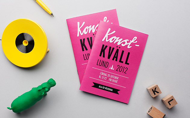 Konstkvällen i Lund, gallerie, teater, anna nilsson, grafisk design, illustration