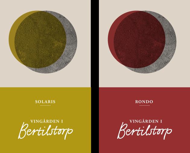 vingården i bertilstorp, anna nilsson, annagrafiskform.se malmö, grafisk design, logotyp, etikett