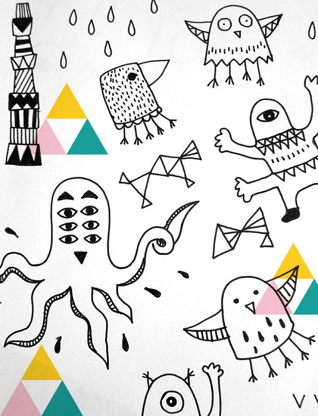 freaks, invasion, illustration, anna nilsson, malmö