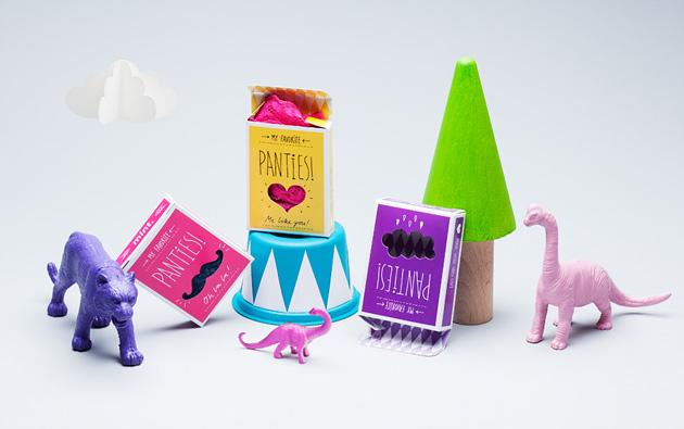 panties, mintsweden, package, förpackning, cirkus, mönster, pattern