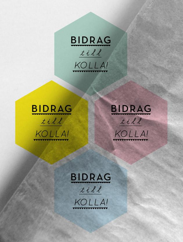 kolla!, anna nilsson, grafisk design, illustration, bidrag, malmö