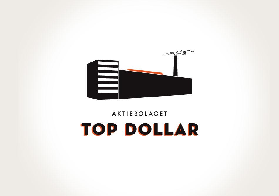 Logotyp till Top Dollar