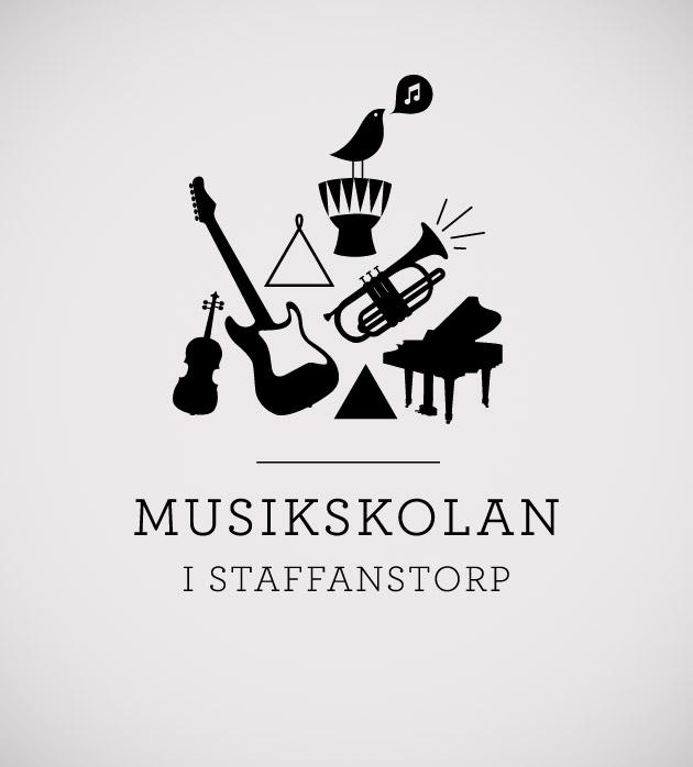 logotyp, musikskolan i staffanstorp, anna grafisk form, anna nilsson, malmö, grafisk design