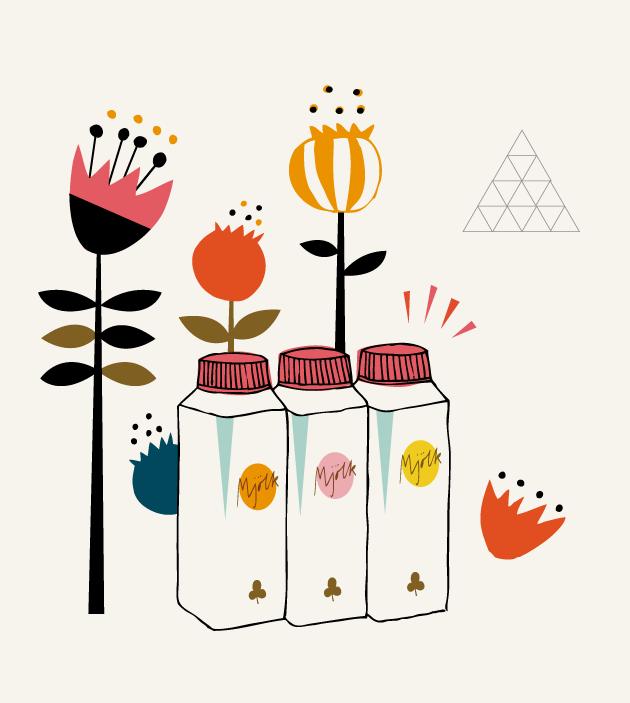 illustration, tetra pak, grafisk design, retro, typografi, anna nilsson, malmö, annagrafiskform