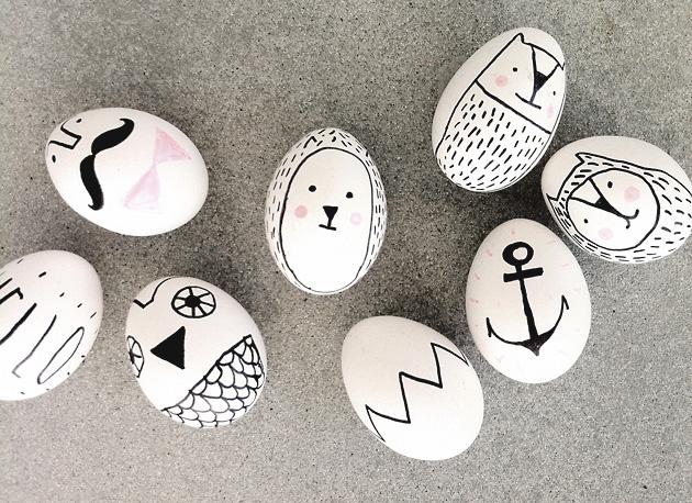 glad påsk! grafisk design, illustration