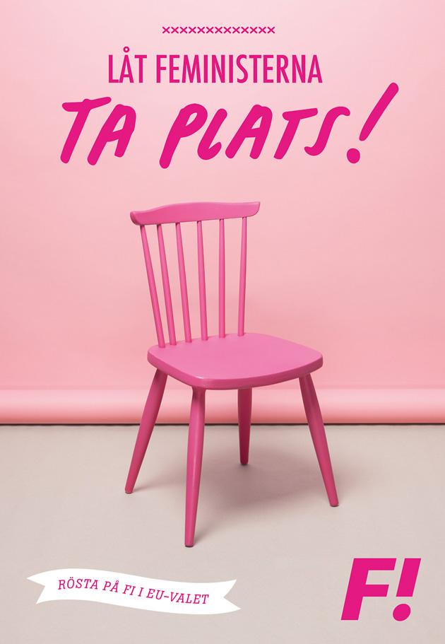 feministiskt initiativ, valkampanj, grafisk design, webb, informationsarkitektur, annons, affisch, folder, malmö, designbyrå, anna nilsson