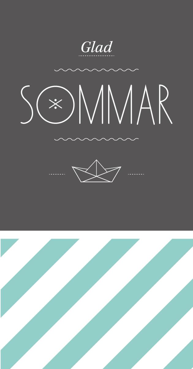 sommar, semester, illustration, anna nilsson, annagrafisk form, bon voyage