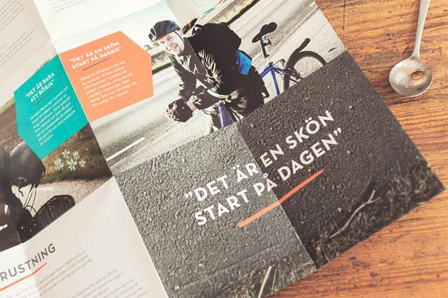 bon voyage, annagrafisk form, malmö, pendla med cykel