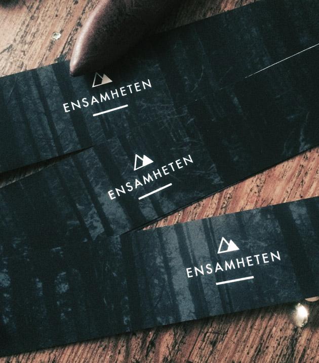 ensamheten, behind the sceens, scarf, screenprint, illustration