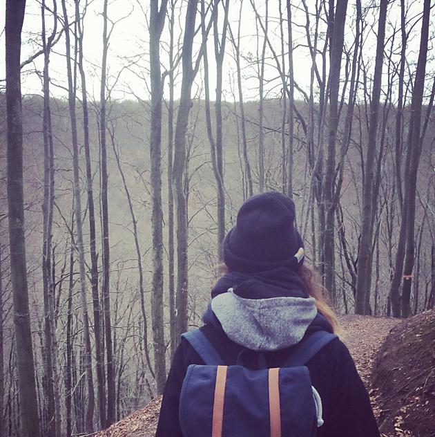 vintervila med promenader i naturen