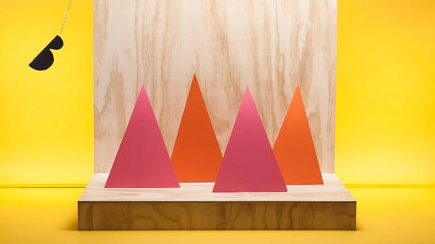 Bon Voyage har tagit fram ett grafiskt koncept till Bästa biennalen, moderna museet