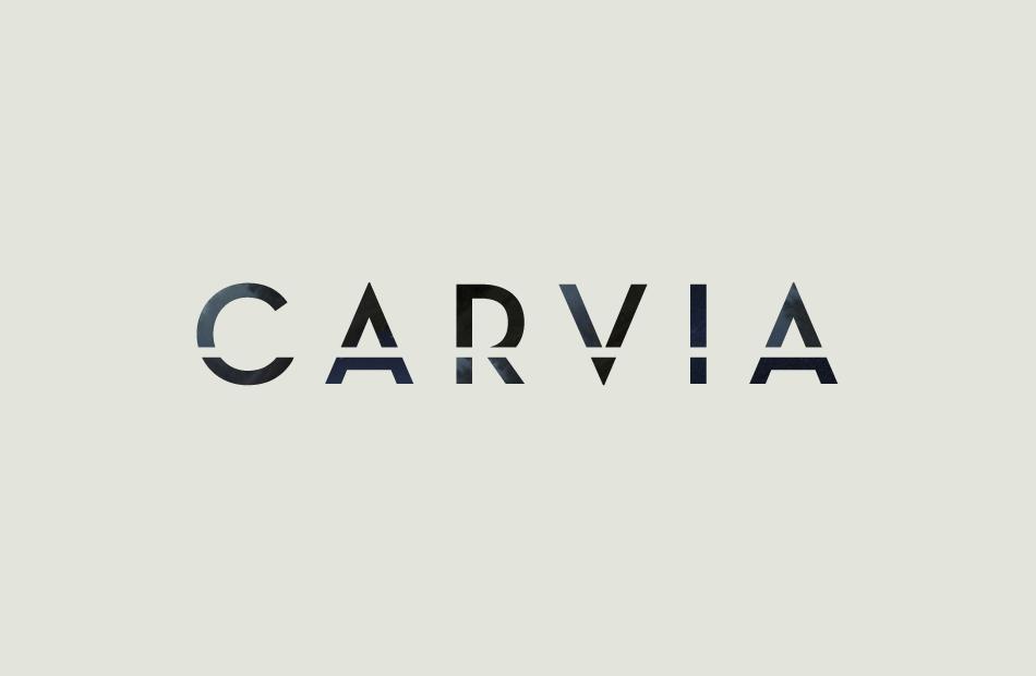 Visuell identitet till Carvia