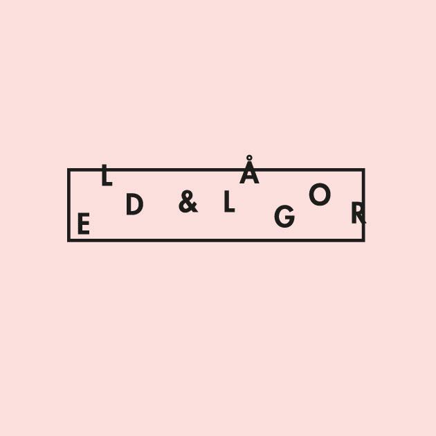 logotyp för Eld & lågor