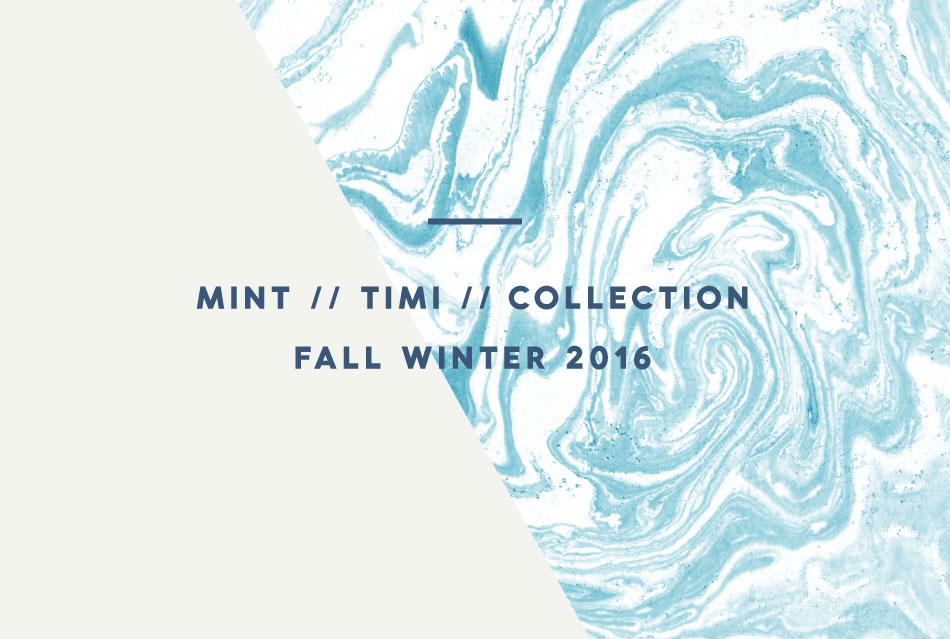 grafisk palett för Mints höst kollektion