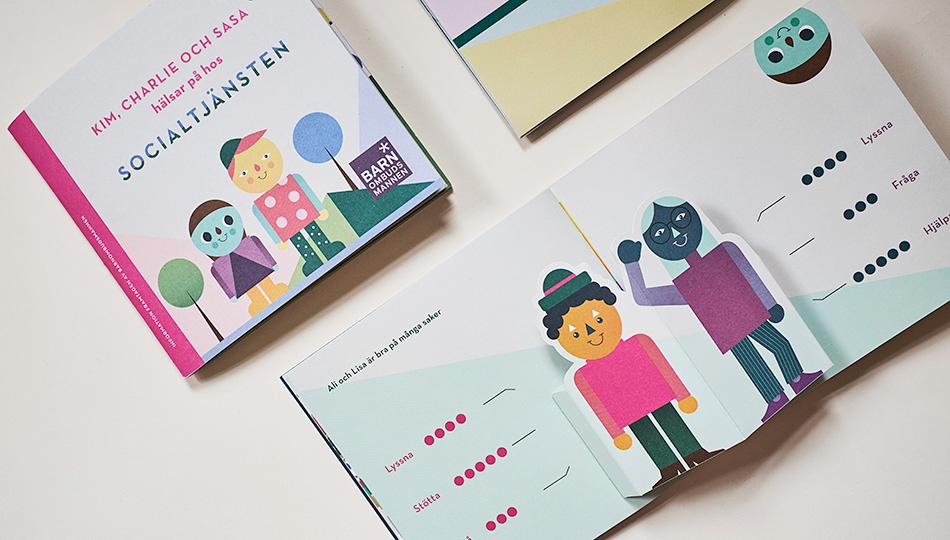 Barnbok om socialtjänsten